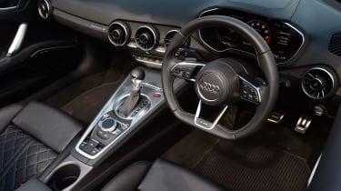 Audi TTS Roadster - cabin