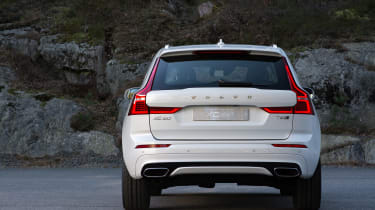 Volvo XC60 2017 - white rear