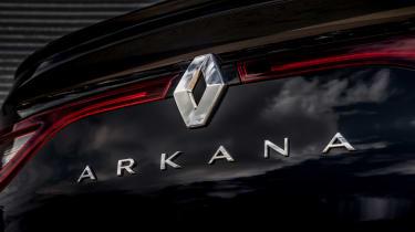 Renault Arkana - rear badge