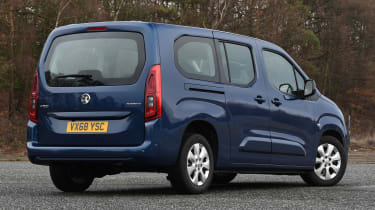 vauxhall combo life xl static rear