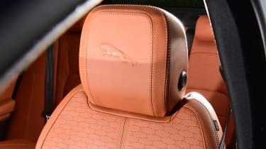 Jaguar XF facelift - seat detail