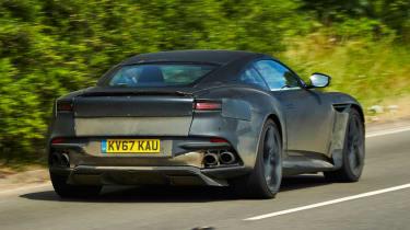 Aston Martin DBS Superleggera prototype - rear