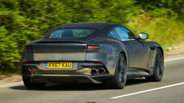 Aston Martin DBS Superleggera prototype - rear