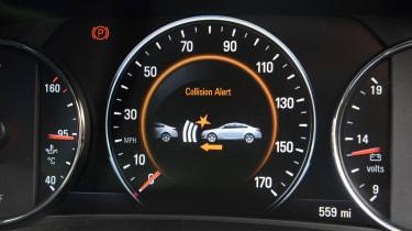 Vauxhall Insignia Sports Tourer - dials