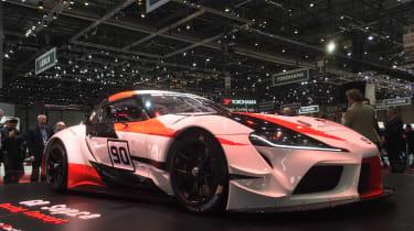 Toyota GR Supra concept Geneva 2018 front