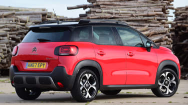 Citroen C3 Aircross - rear quarter static