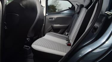 Toyota Aygo - rear seat