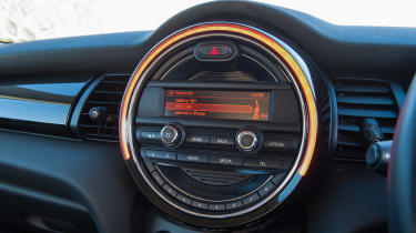 Used MINI - centre console