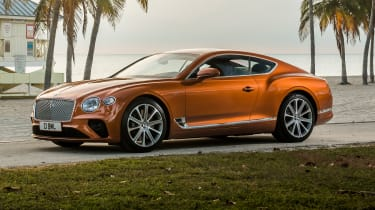 Bentley Continental GT V8 - coupe front 3/4 static