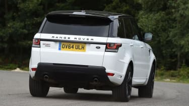 Used Range Rover Sport - rear cornering