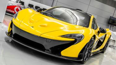 McLaren P1 front static