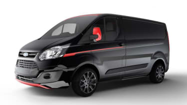 Ford Transit Custom Colour Edition - Absolute Black