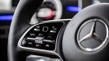 Mercedes A-Class - steering wheel detail