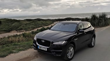Jaguar F-Pace Portfolio overhead