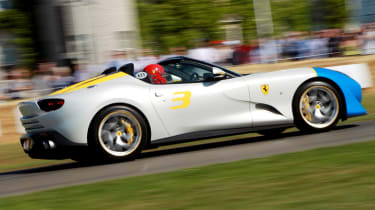Ferrari SP3JC - Goodwood run 2019