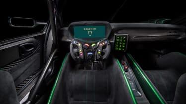 Brabham BT62 interior