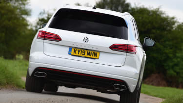 Volkswagen Touareg long termer - first report rear action