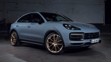 Porsche Cayenne Turbo GT - front static
