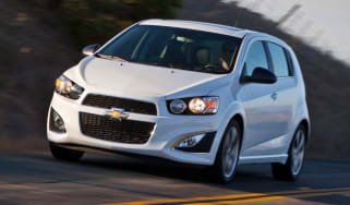Chevrolet Aveo RS front tracking