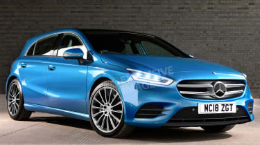 Mercedes A-Class - front (watermarked)