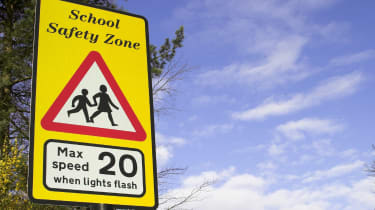 20mph school speed limit