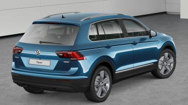 volkswagen tiguan match static rear quarter