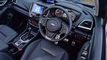 Subaru Forester e-Boxer - cabin