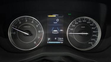 Subaru Impreza 2017 - speedo