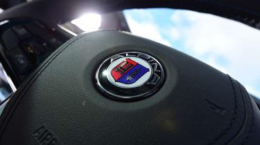 Alpina B5 Touring - steering wheel