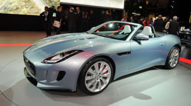 Jaguar F-Type front cornering