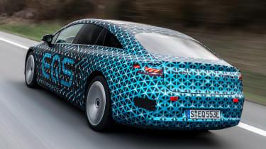 Mercedes EQS prototype - rear