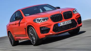 BMW X4M - front cornering