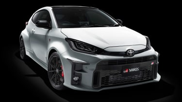 Toyota GR Yaris - front studio