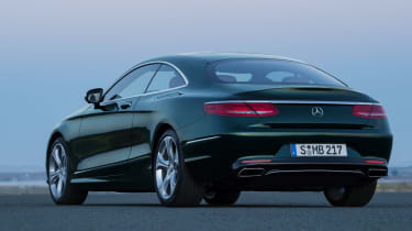 Mercedes S-Class Coupe rear static