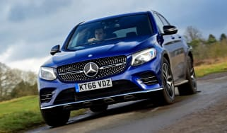 Mercedes-AMG GLC 43 Coupe - front cornering