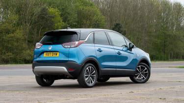 Vauxhall Crossland X - rear static