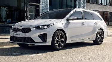 Kia Ceed Sportswagon PHEV - front 3/4 static