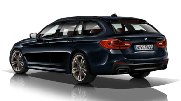 BMW M550d xDrive Touring - rear