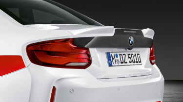 BMW M2 Competition Performance Parts - tailgate