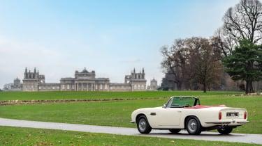 Electric Aston Martin DB6 Mk2 Volante - rear panning