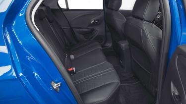 Vauxhall Corsa-e - rear seats
