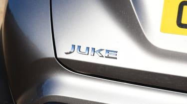 Nissan Juke - badge