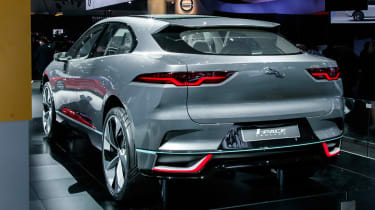 LA Motor Show - Jaguar I-Pace rear