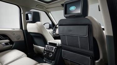 Range Rover SDV8 - rear seats