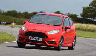 Ford Fiesta ST - front cornering