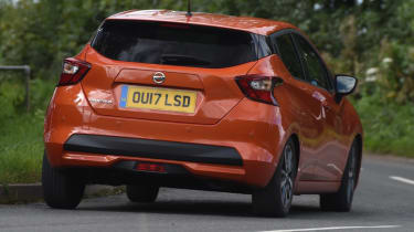 Long term Nissan Micra - second report - rear