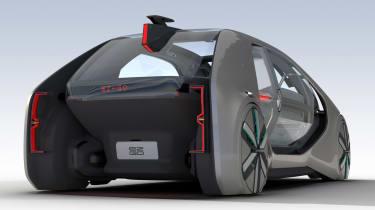 Renault EZ-GO concept - rear static