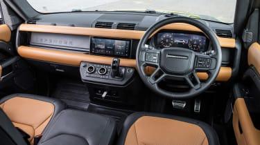 Land Rover Defender - dash