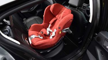 Long term review: Ford Focus Titanium X - child seat