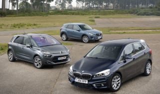 BMW 2 Series Active Tourer vs rivals